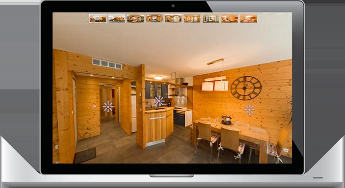 La visite virtuelle au service de l'immobilier